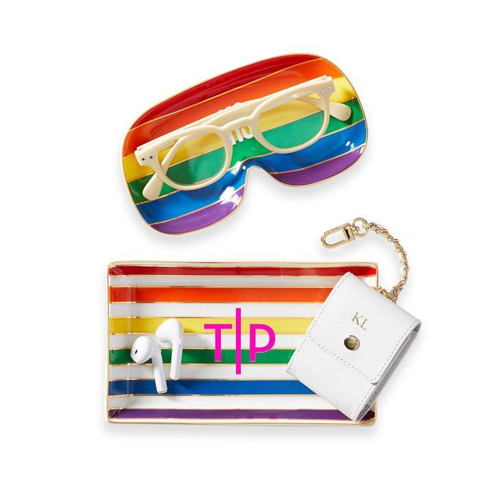 Colorful Rainbow Pride Catch-all Tray