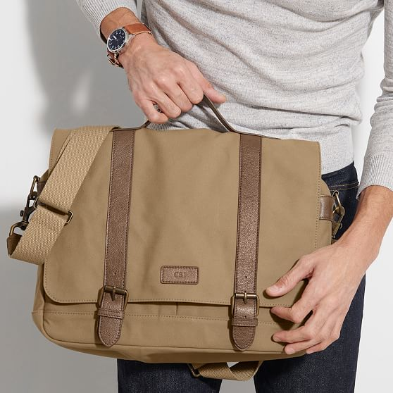 Personalized Housewarming Messenger Bag