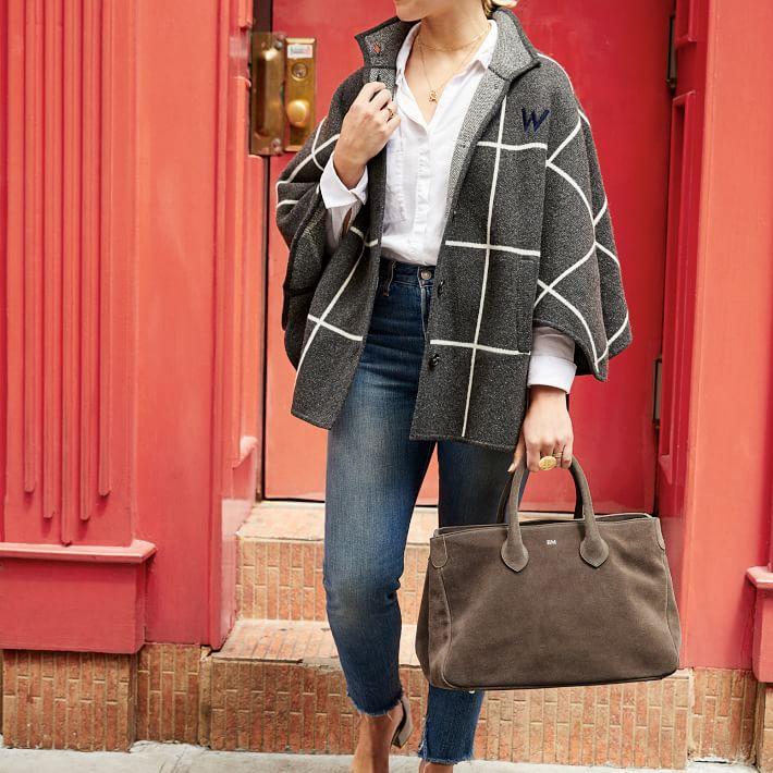 Wool Knit Cape