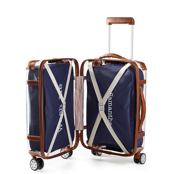 Monogrammed Jewelry Travel Cube